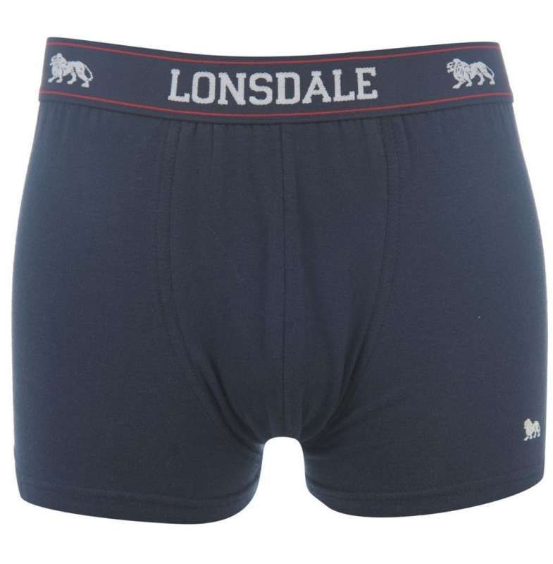 Lonsdale 2Pk Trunk Mens