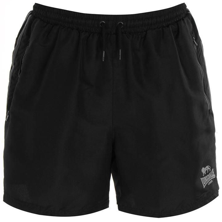 Lonsdale Two Stripe Woven Shorts Mens