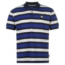 Yarn Dye Stripe Polo Shirt Mens