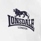 Lonsdale 2 Stripe Jersey Polo Shirt Mens