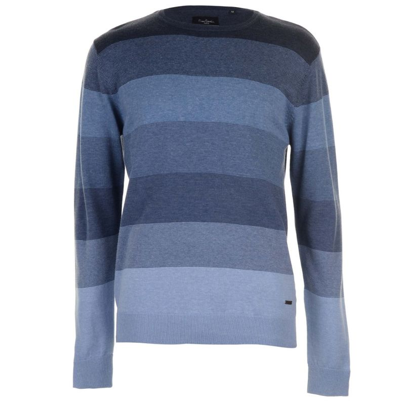 Pierre Cardin Stripe Knit Jumper Mens