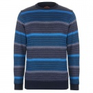 Striped Crew Knit Mens