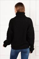 CARISMA dámský pletený svetr černý 6085