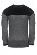 CARISMA pánský černý svetr ke krku 7645