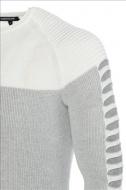 CARISMA pánský šedý svetr ke krku 7645