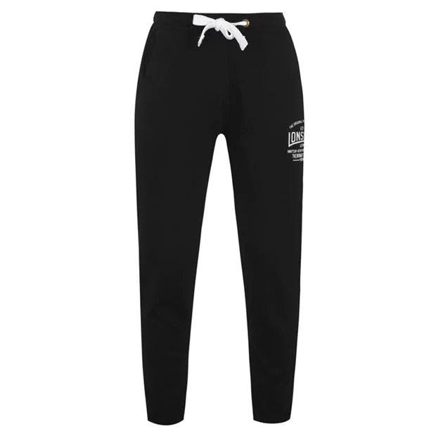 Pánské tepláky LONSDALE Box Lightweight Sweat Pants Mens