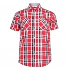 LEE COOPER SS Check Shirt Mens | 2XL