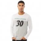 JACK AND JONES Mens Trinity Long Sleeve Crew Neck T-Shirt | L, XL