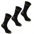 Pánské ponožky CATERPILLAR Work Socks 3 Pack Mens | 6-11