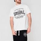 Pánské tričko LONSDALE T Shirt Mens