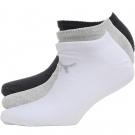 Puma Mens Three Pack No Show Socks | 39-42, 43-46