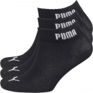 Puma Mens Three Pack Quarter Socks | 39-42, 9-11